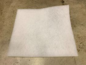 POLYESTER PAD FILTER 20X25X1